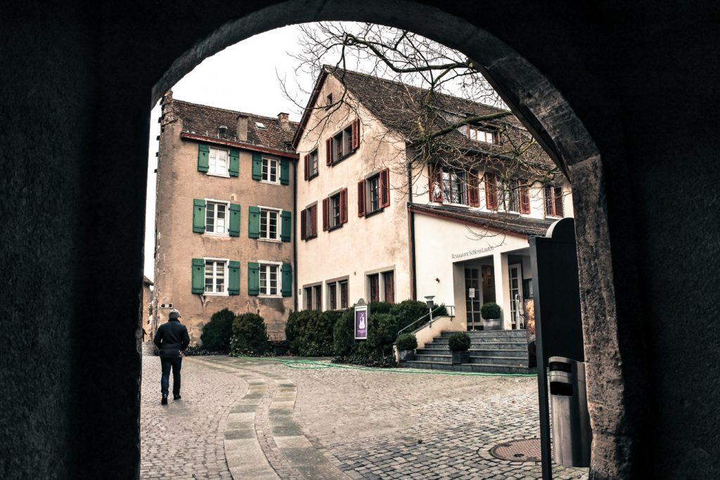 zamek Laufen