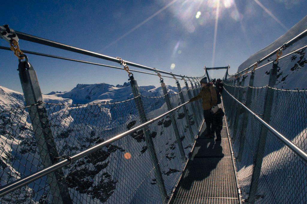 Glacier Cliff Walk Titlis