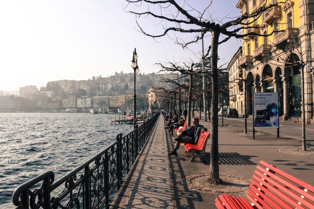 Lugano jezioro
