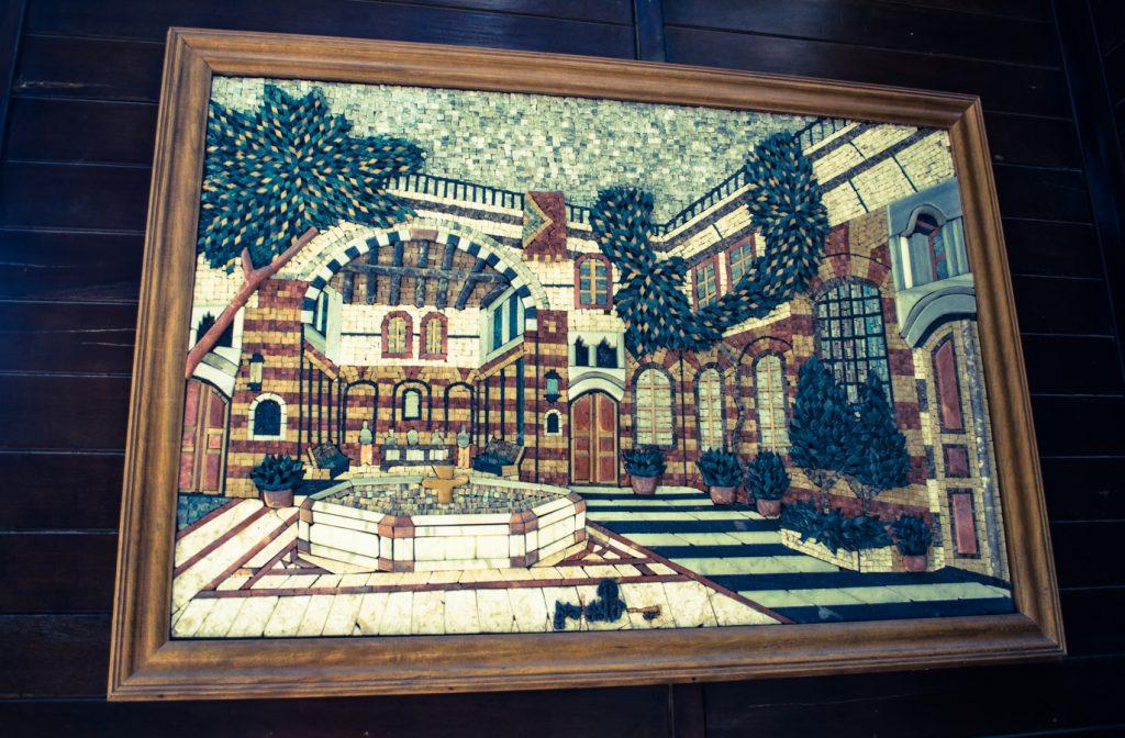 dubai marina mozaika