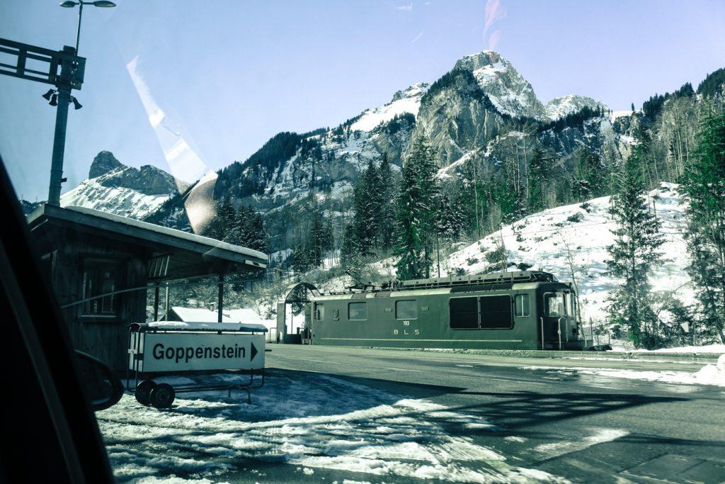 droga do Zermatt