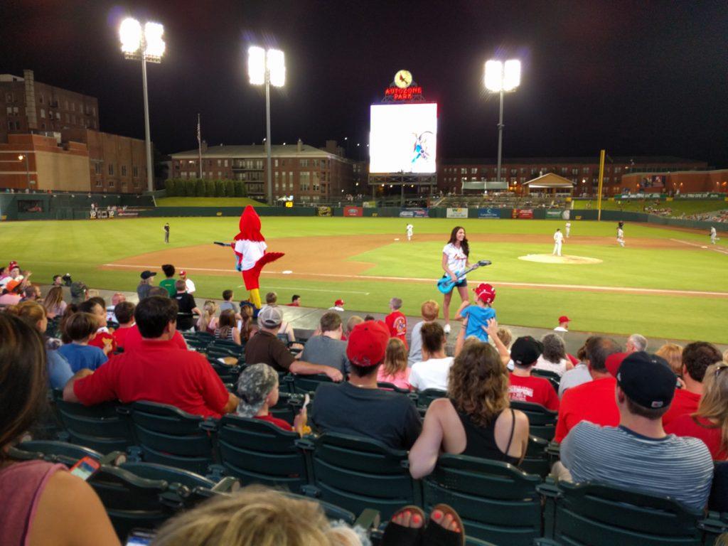 mamphis baseball game