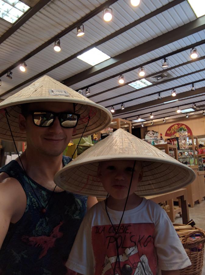 memphis zoo chińskie kapelusze