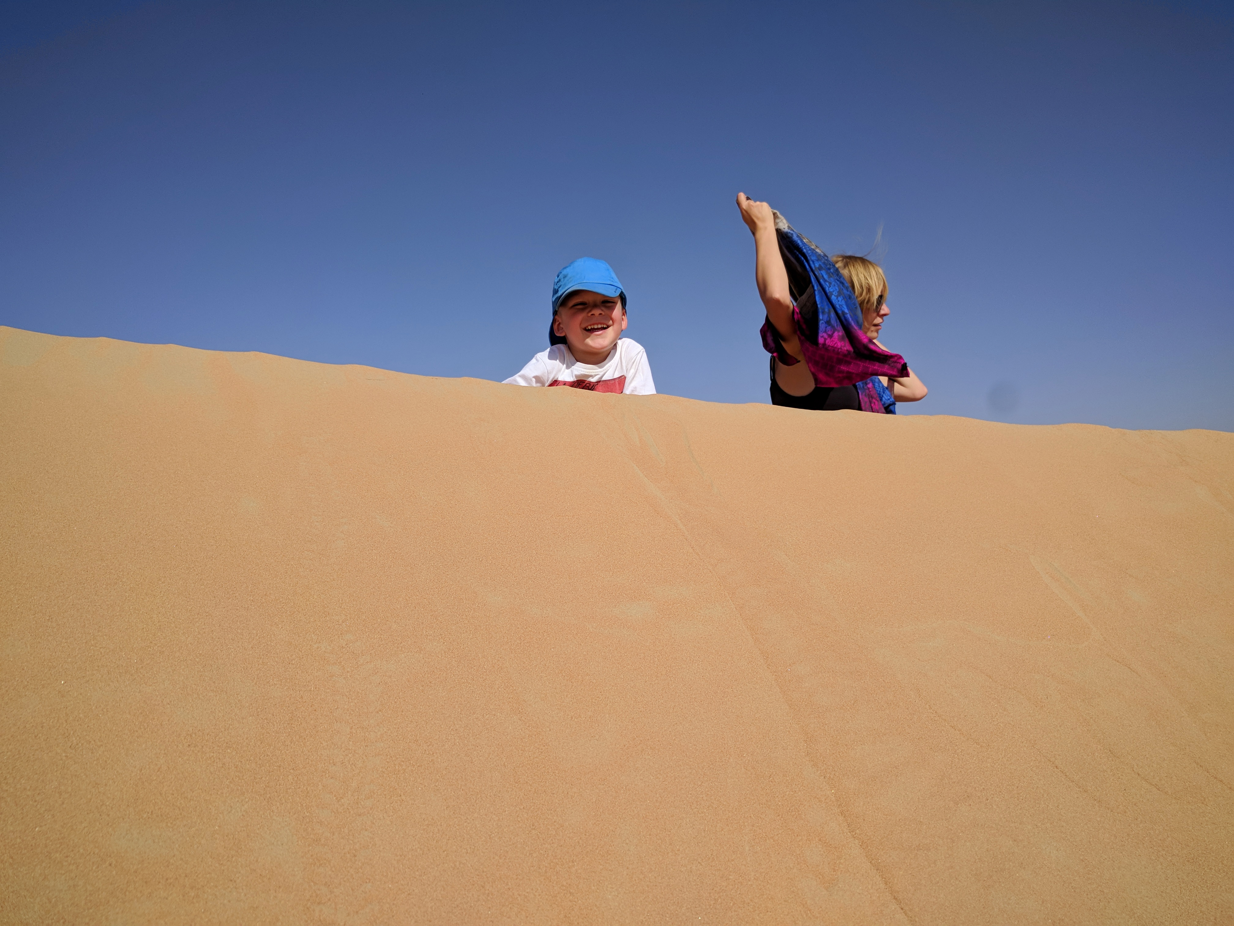 Dubai Desert Conservation Reserve domowe ZOO Szejka