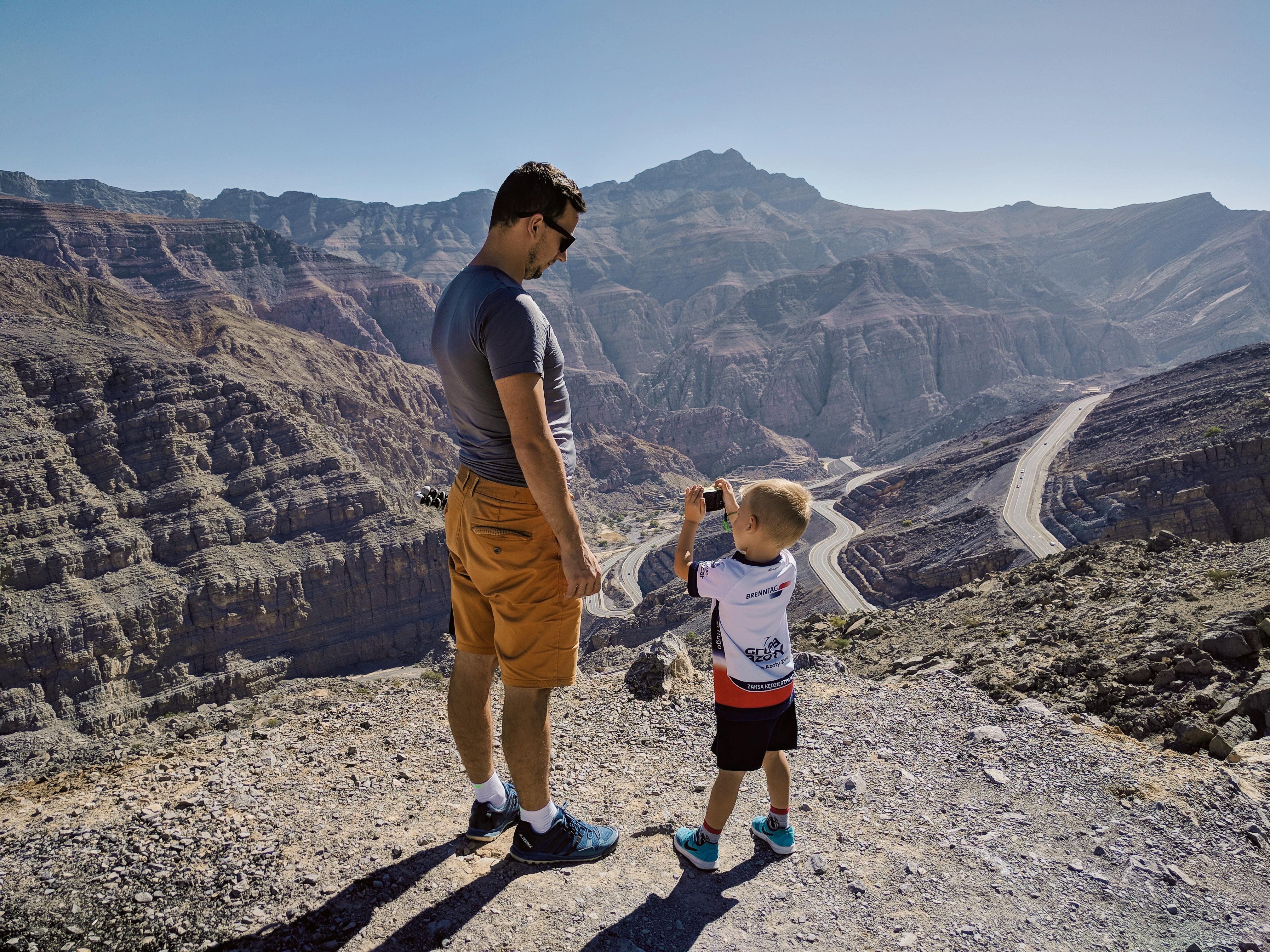 Jebel Jais najwyższy punkt w Emiratach