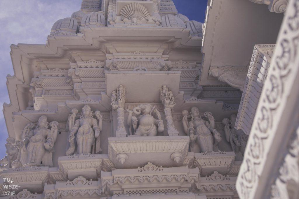 hinduska świątynia niedaleko Chicago