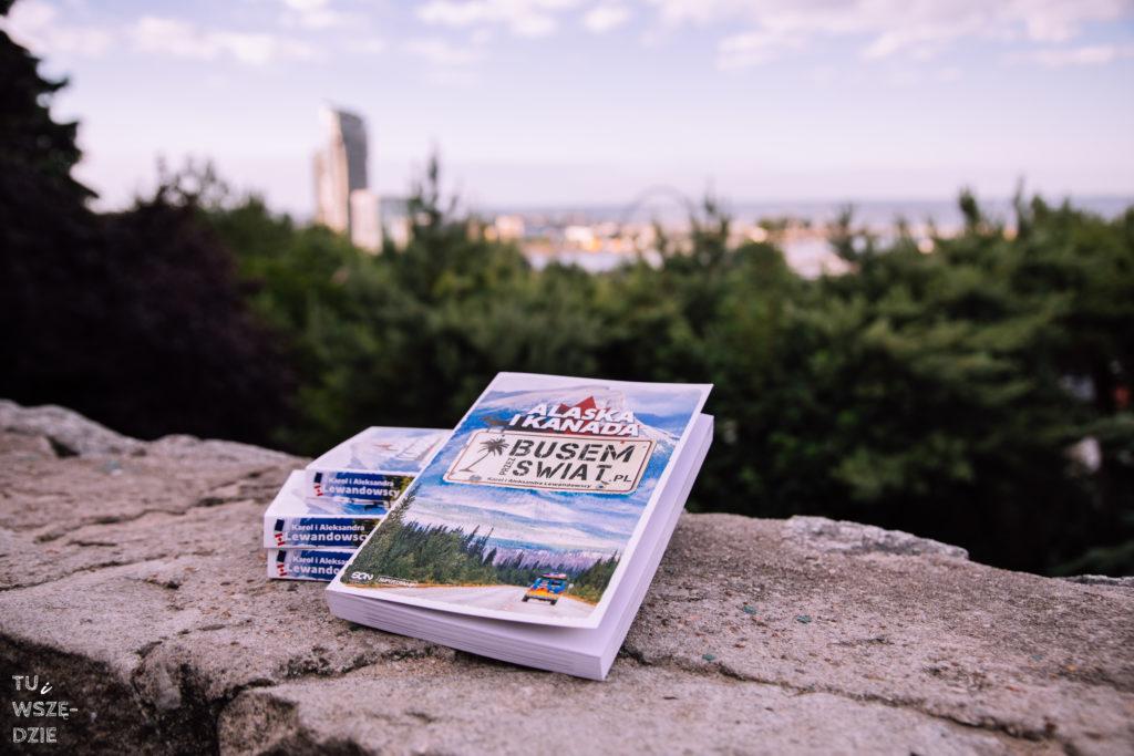 Książka Busem przez Świat Alaska i Kanada