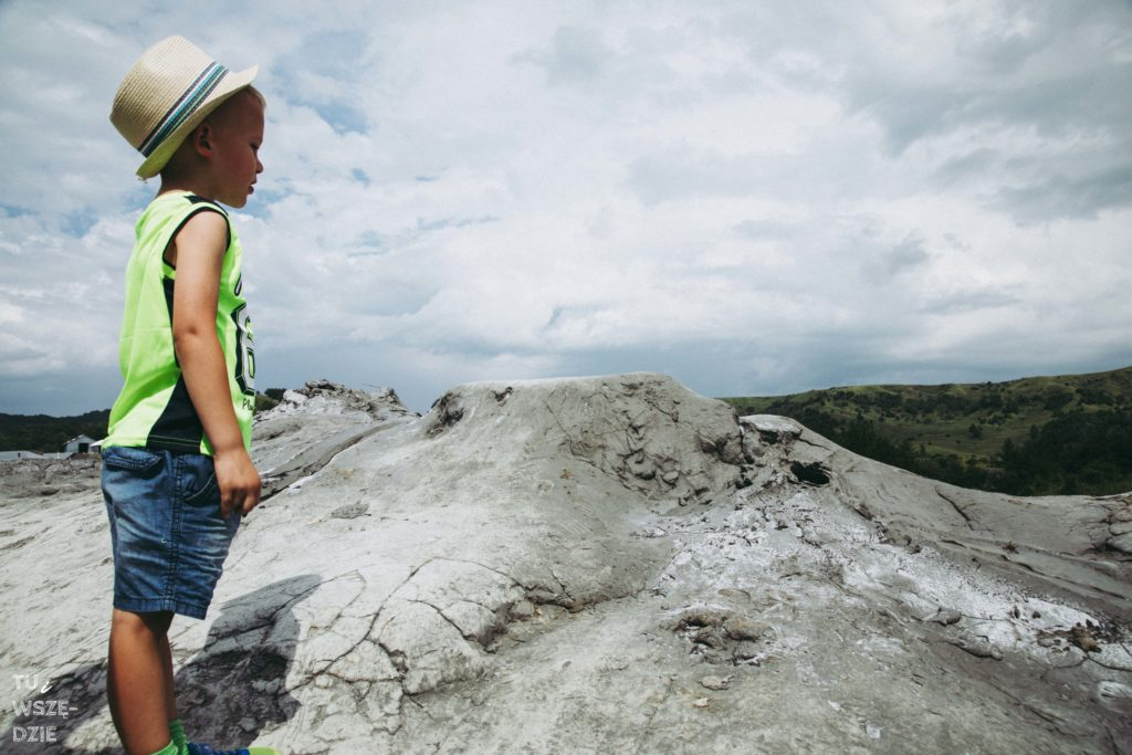 błotne wulkany w Rumun